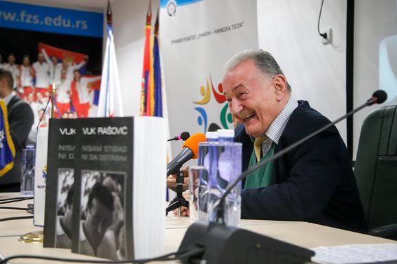 Vuk Rašović, promocija knjige