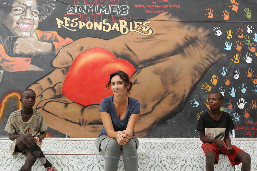 Dominika Kulczyk pomaga w Senegalu