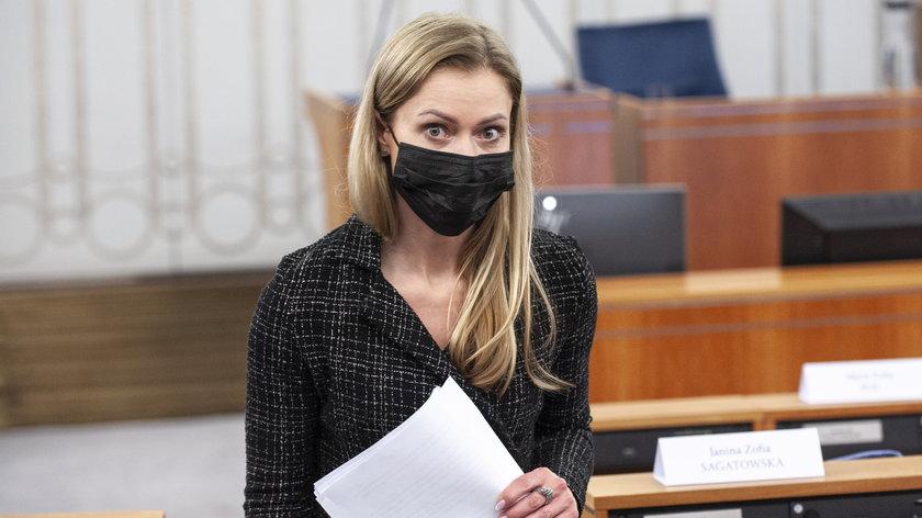 Wiceminister zdrowia Anna Goławska