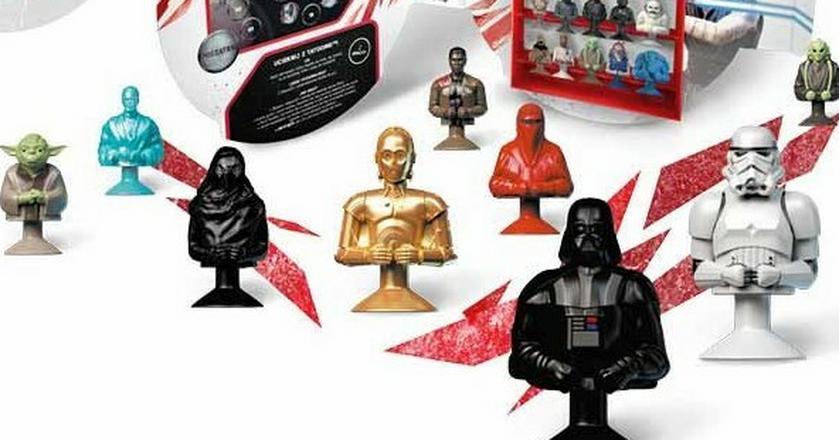 Star Wars to kolejna odsłona Stikeezów w Lidlu. Wcześniej można było zbierać gumowe figurki w kształcie warzyw i owoców