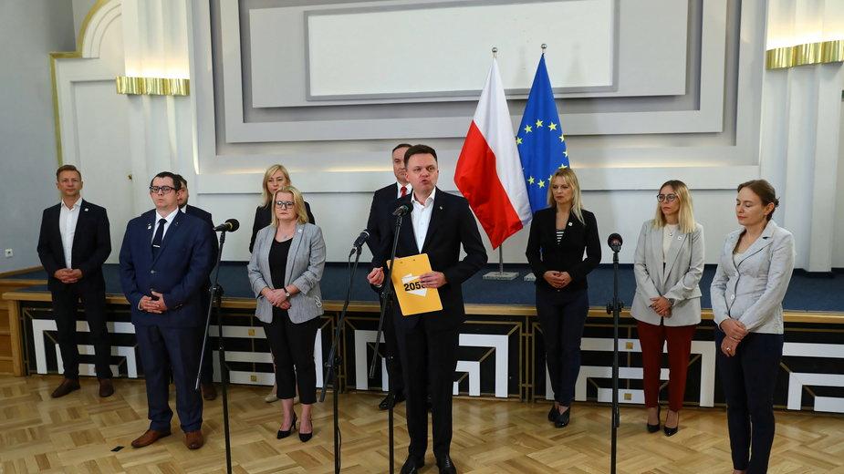 Szymon Hołownia zapowiedział wczoraj powołanie nowej partii
