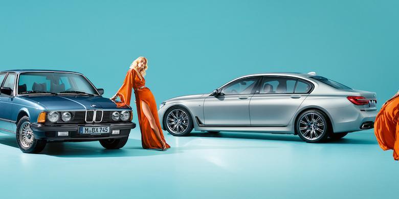 """BMW serii 7 edycja 40 Jahre: jubileuszowa """"siódemka"""""""