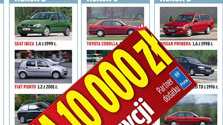 Używane auto za 10 tys. zł - Zobacz jaki samochód warto kupić za te pieniądze?