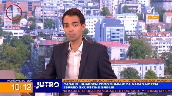 Filip Čukanović u jutarnjem programu