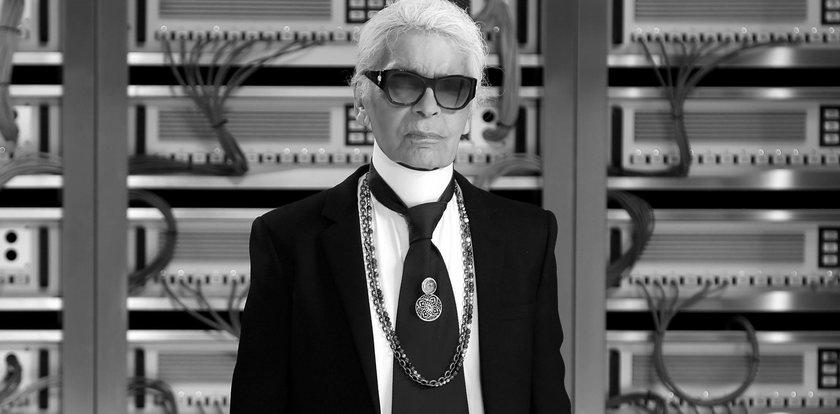 Szokujące słowa aktorki o zmarłym Karlu Lagerfeldzie