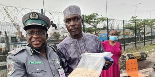 Customs, NDLEA, DSS seize prohibited drug at Apapa port | Pulse Nigeria