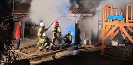 Pożar w Małopolsce. Spłonęły zabytkowe motocykle warte majątek