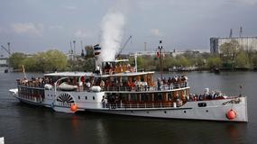 Szczecin: przypłynął historyczny parowiec