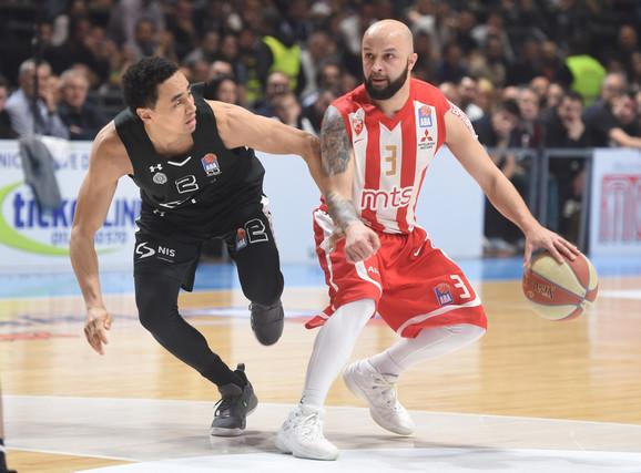 Filip Čović je kontrolisao igru u trećoj deonici