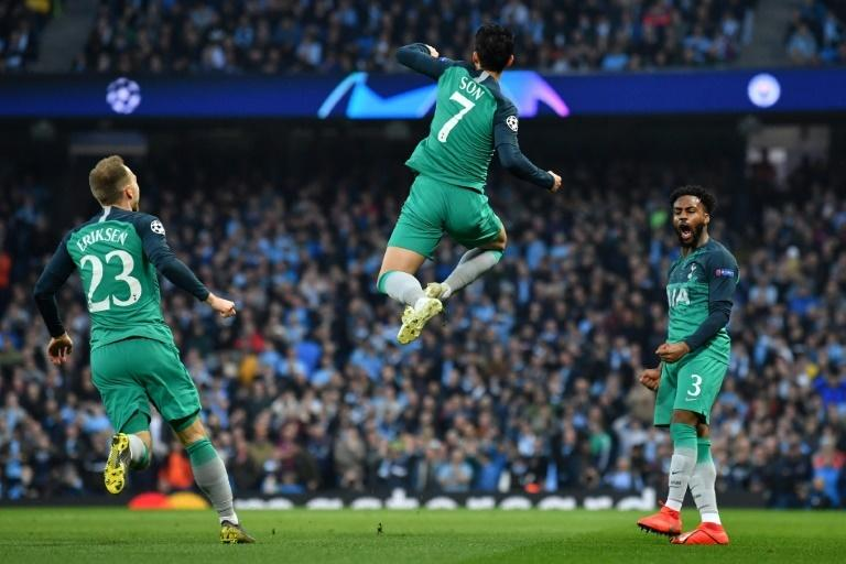 Son Heung-min's brace was crucial in Tottenham's Champions League thriller at Manchester City