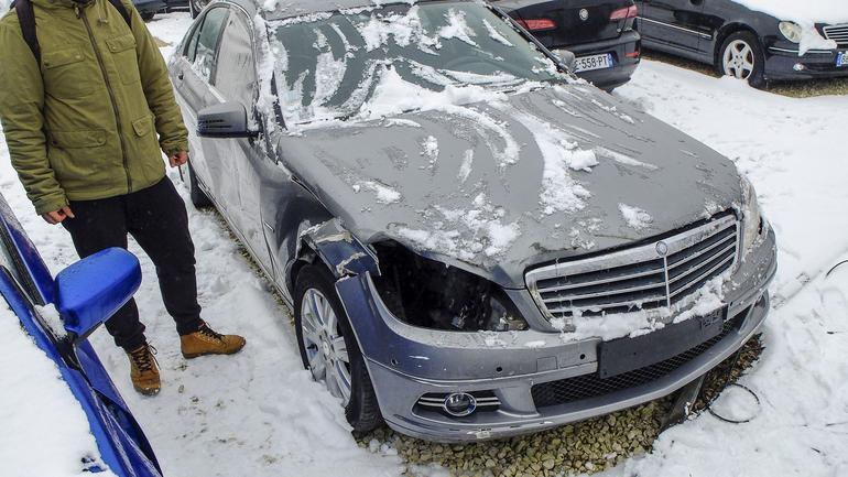 Tak wyglądało twoje auto! To była tylko mała stłuczka