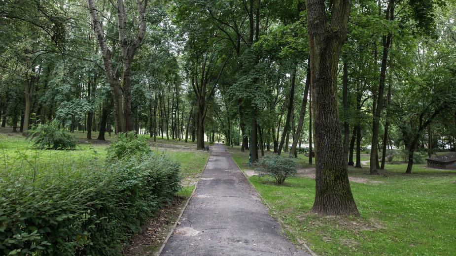 Park Akademicki w miasteczku akademickim UMCS