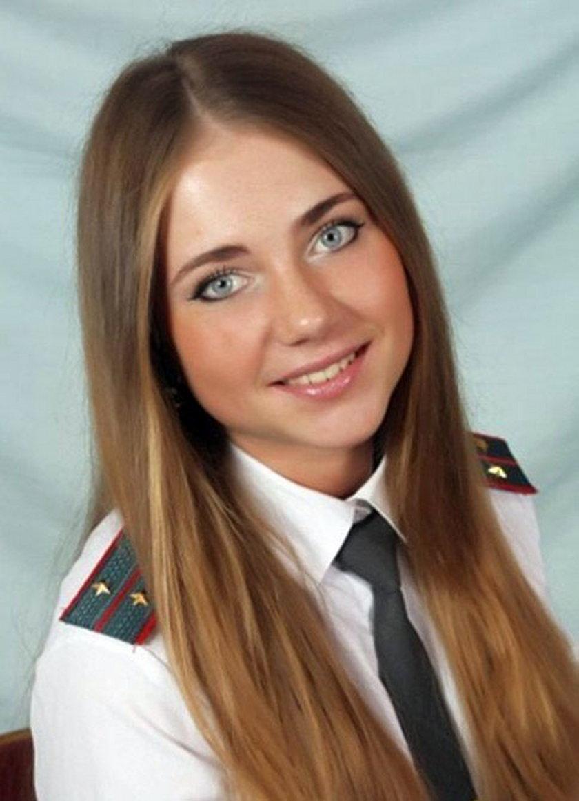 Policjantka Jewgienia z Rosji