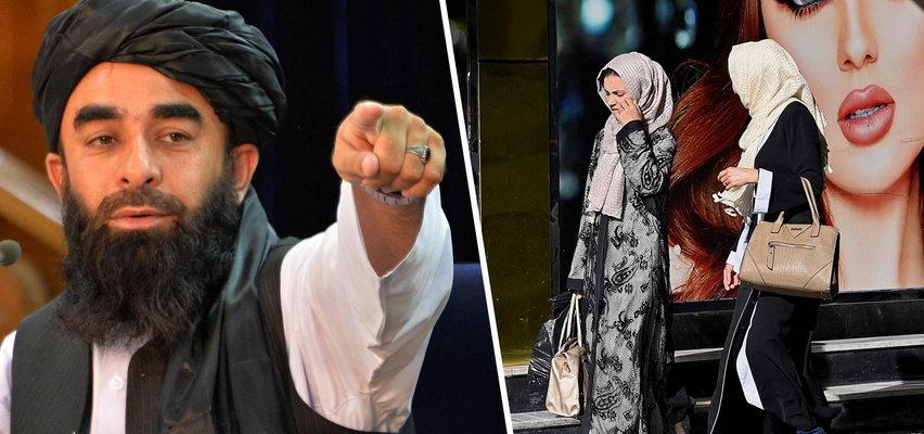 """Rzecznik Talibów wyjawił, jakie specjalne """"prawa"""" i """"obowiązki"""" będą miały kobiety za ich rządów"""