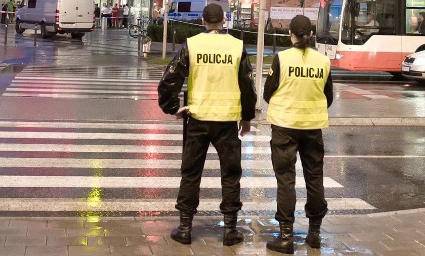 W Rzeszowie policyjny patrol został zaatakowany przez dwie emerytki