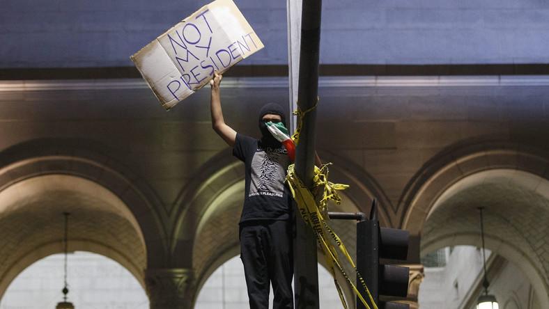 Protest w Los Angeles