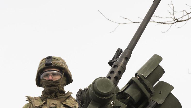 Amerykański żołnierz na Łotwie