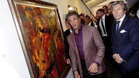W Nicei na Lazurowym Wybrzeżu otwarto wystawę malarstwa... Sylvestra Stallone