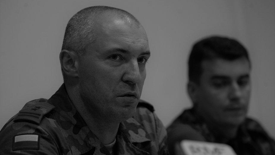 Nie żyje płk Dariusz Kacperczyk