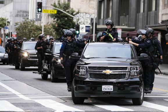 Nemiri širom SAD - policija Los Anđelesa
