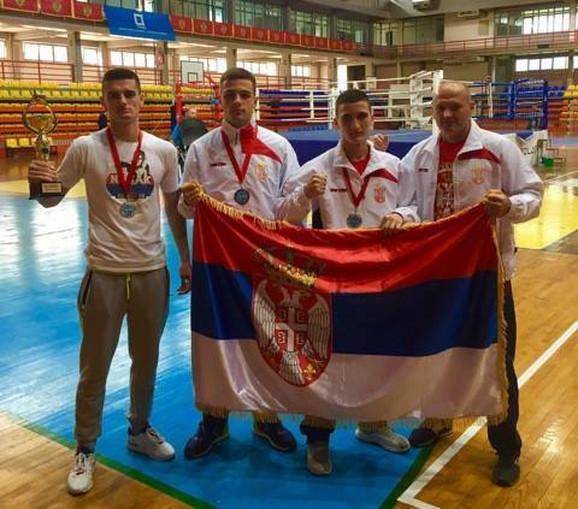 Nišlijama zlato srebro i bronza na Balkanskom prvenstvu
