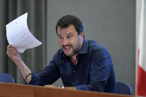 Poriče dogovor, preti tužbama - Mateo Salvini