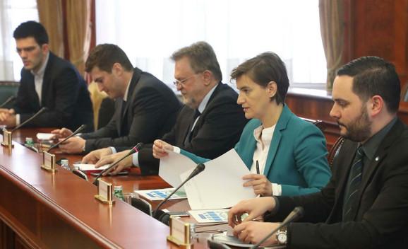 Sa sastanka sa predstavnicima MMF i premijerkom