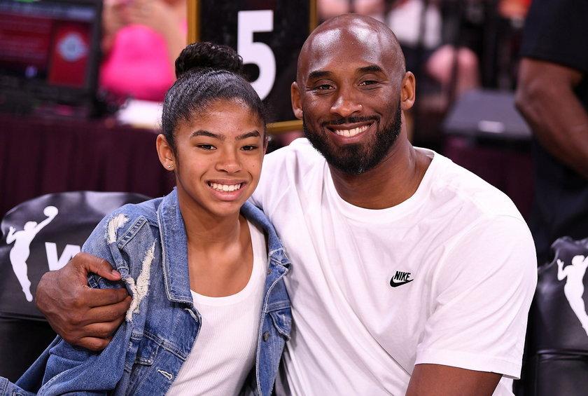 Kobe Bryant z 13-letnią córką Gianną