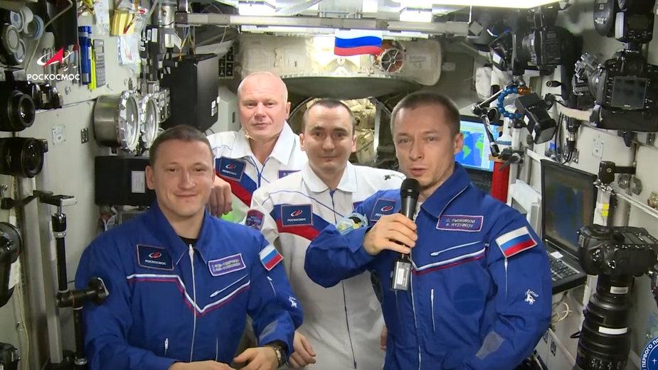 Rosyjscy astronauci uczcili rocznicę lotu Gagarina