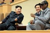 Denis Rodman Kim Džong Un AP