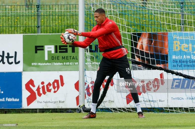 German-born youngster Maduka Okoye has been invited to play for Nigeria [TF-Images Getty Images]