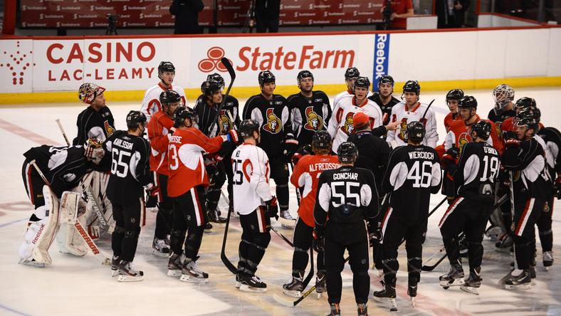 Hokeiści Ottawa Senators