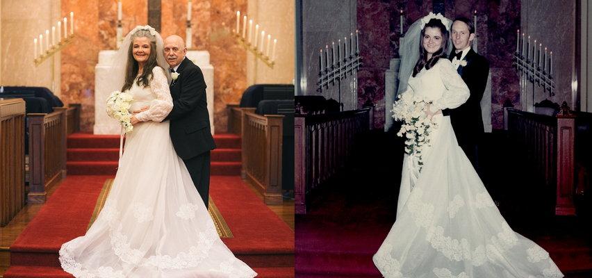 Po 50 latach zrobili sobie drugą sesję ślubną. Efekt wbija w fotel. Tak się starzejemy, ale nie przestajemy kochać