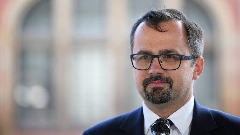 Marcin Horała, wiceminister i pełnomocnik rządu ds. CPK