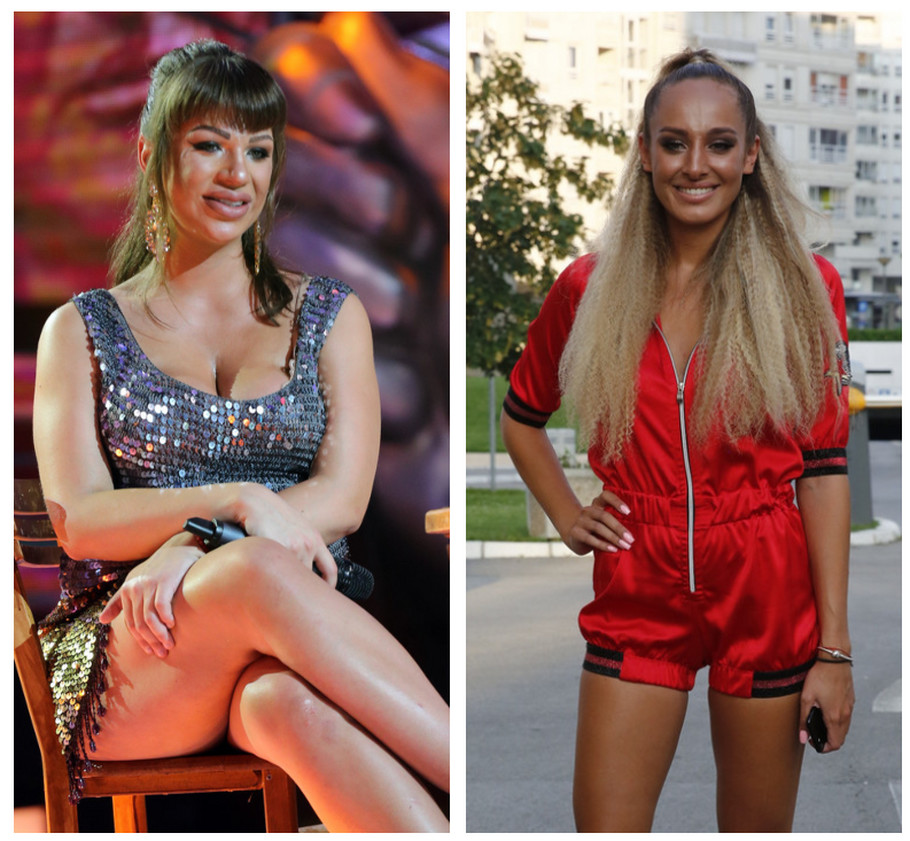 Miljana Kulić i Luna Đogani