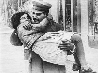 Stalin and Svetlana / Photo / 1935