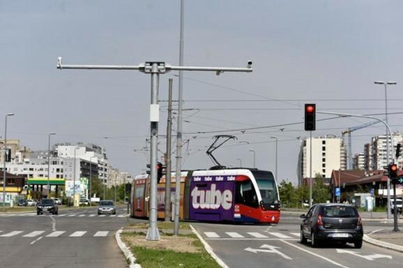 Kamere na Novom Beogradu