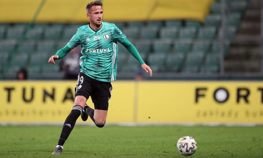 Tomas Pekhart strzeliłdwa gole w meczu z Rakowem