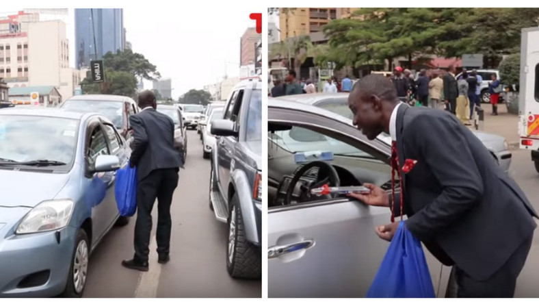 Banker quits Barclays bank to sell pencils in the streets and makes more money (video)