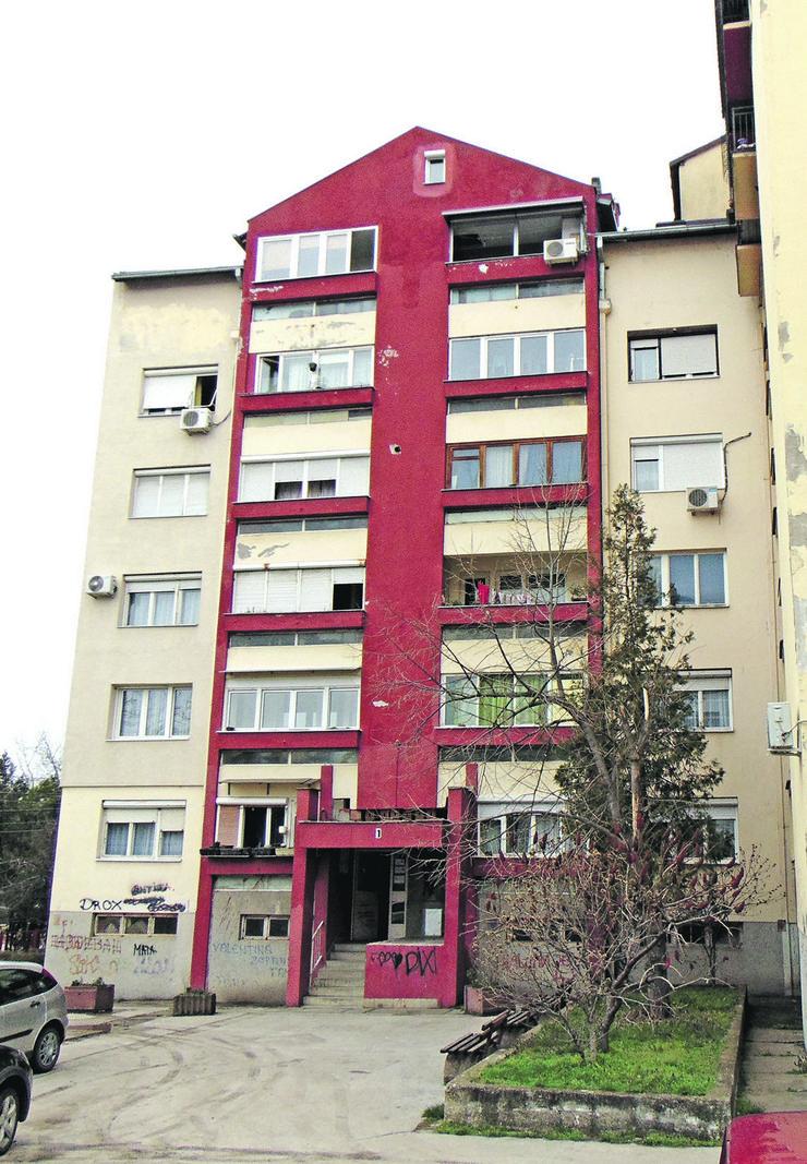 NIS Zgrada u Ulici dr Dragise Misovica u NIsu u kojoj je stanovao zastavnik Zarko T foto Branko Janackovic