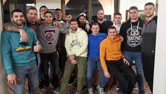 Rukometaši Srbije na okupljanju u Kovilovu