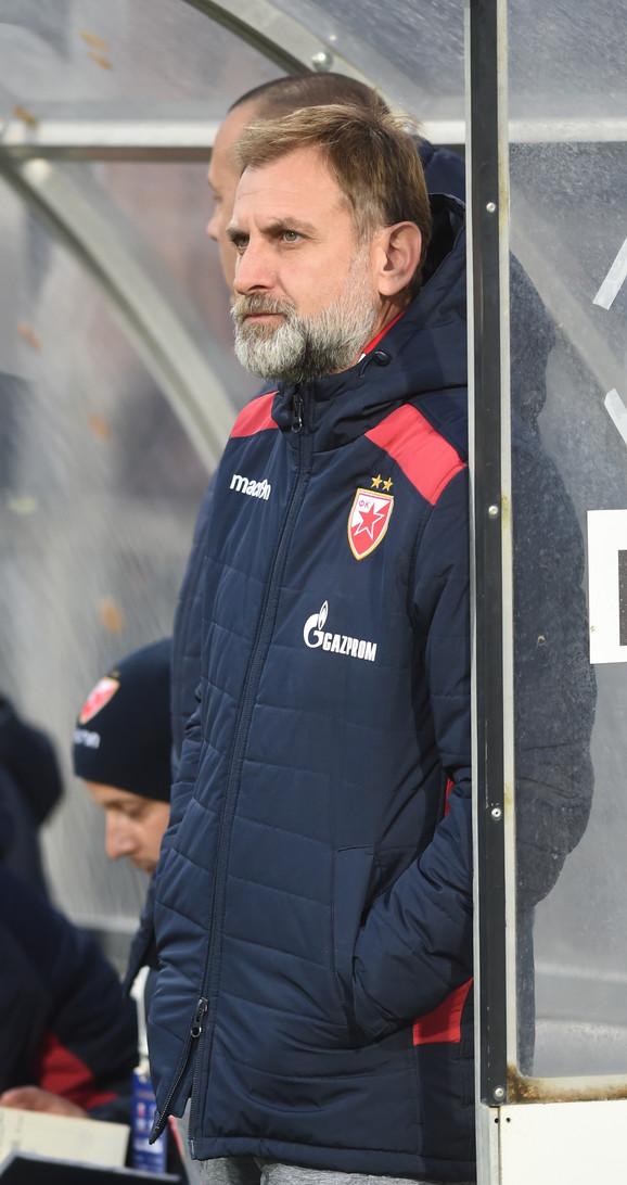 Bratilsav Živković, trener omladinaca Zvezde