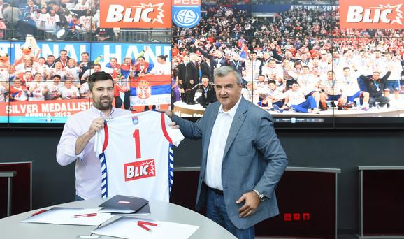 Đurković je predao reprezentativni dres sa logom