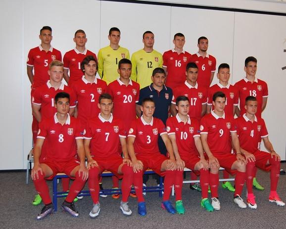 Kadetska reprezentacija Srbije