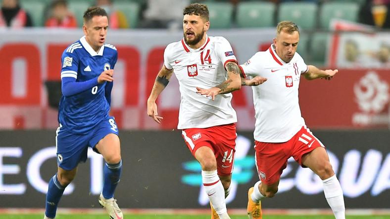 Kadra Polski w meczu z Bośnią i Hercegowiną