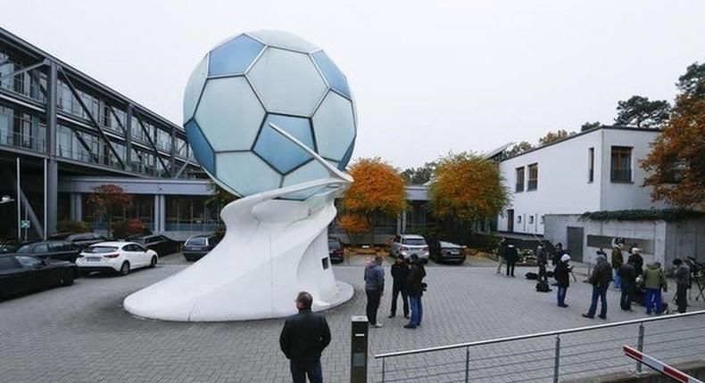 Police raid German soccer HQ over 2006 World Cup Payment