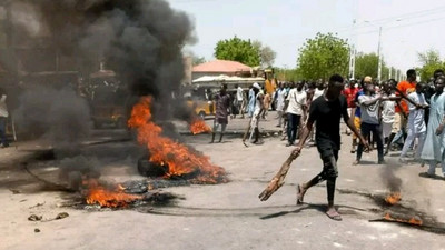 Mob set suspected kidnapper's property ablaze in Kwara