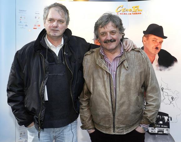Milorad Mandić Manda i Radoš Bajić