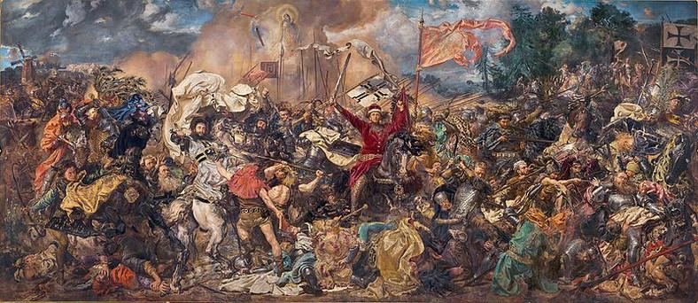 """Jan Matejko """"Bitwa pod Grunwaldem"""" (obraz z 1878 r.)"""