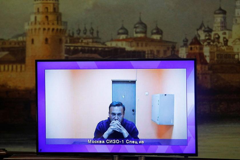 Aleksiej Nawalny w areszcie Matrosskaja Tiszyna